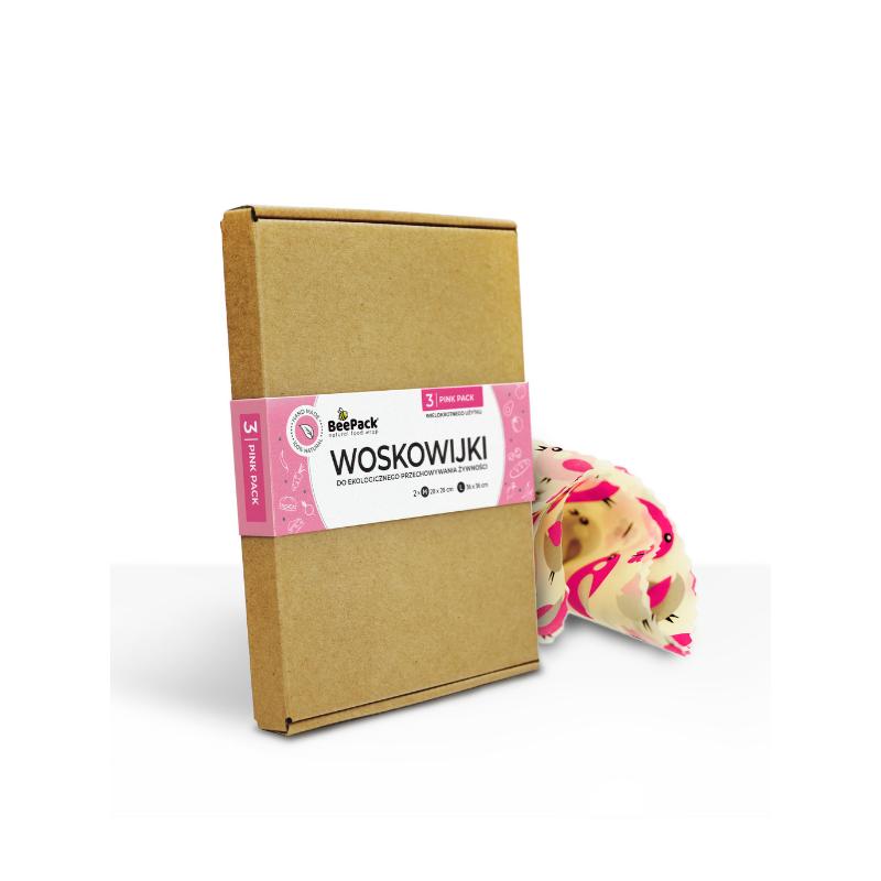 Woskowijki Pink Pack 3 szt.