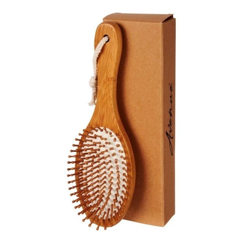 Masująca szczotka do włosów Eko Bambus