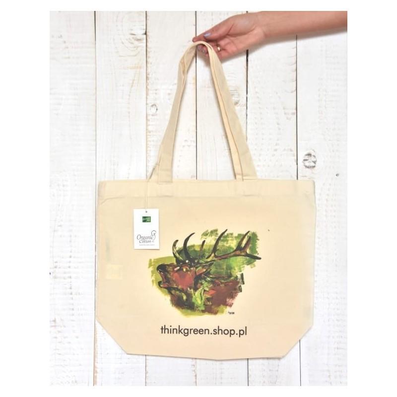 Torba ekologiczna Organic Jeleń
