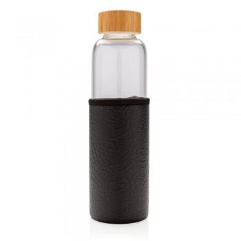 Szklana butelka 550ml w pokrowcu