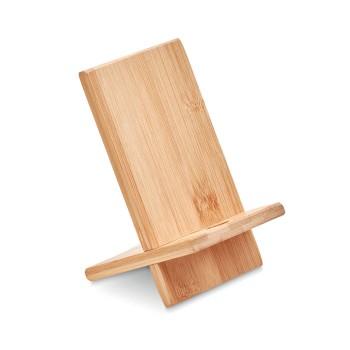Bambusowa podstawka na telefon