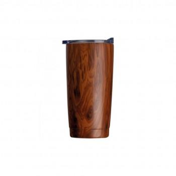 Kubek termiczny Dark Wood 550ml