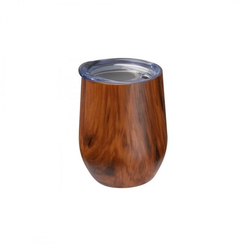 Kubek termiczny Dark Wood 380ml
