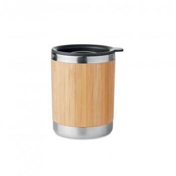 Bambusowy kubek termiczny Lokka 250ml