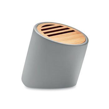 Głośnik Bluetooth 5.0 z cementu wapiennego i bambusa