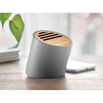 Głośnik Bluetooth z cementu wapiennego i bambusa
