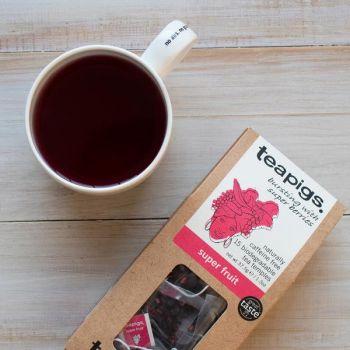 Herbata teapigs Super Fruit 15 piramidek