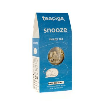 Herbata teapigs Snooze - Sleepy Tea 15 piramidek