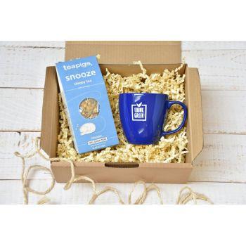 ECO Zestaw Herbata TEAPIGS Snoozy - Sleepy tea, ceramiczny kubek 450 ml