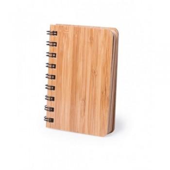 Bambusowy notatnik A6