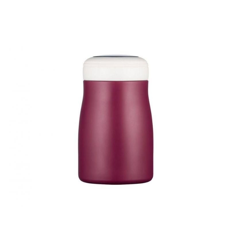 Pojemnik stalowy Ecoffee Cup 500ml Dark Red