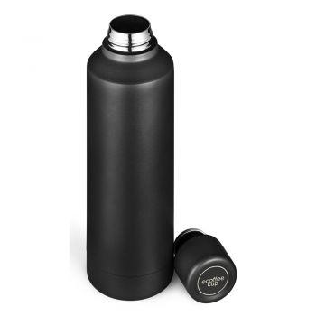 Butelka stalowa czarna