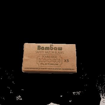 Żyletki do golenia bambusowe