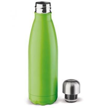 Stalowa butelka zielona