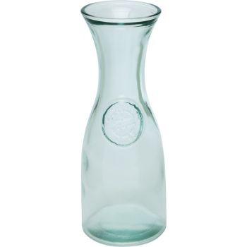 Karafka ze szkła z recyclingu