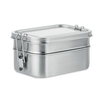 Podwójny Lunchbox ze stali nierdzewnej