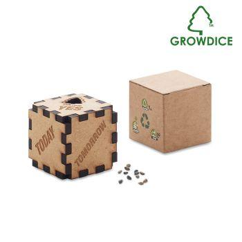 Sosnowa kostka GROWDICE™