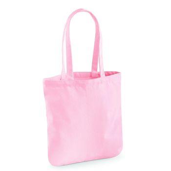 różowa torba bawełniana