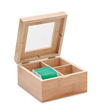 Bambusowe pudełko na herbatę