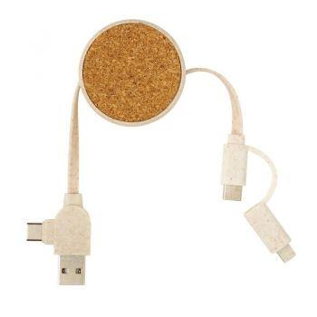 Zwijany kabel do ładowania
