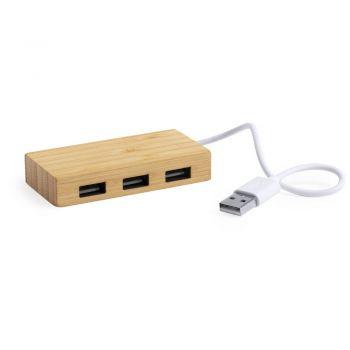 HUB USB BAMBUS