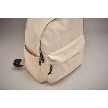 Plecak z grubego płótna