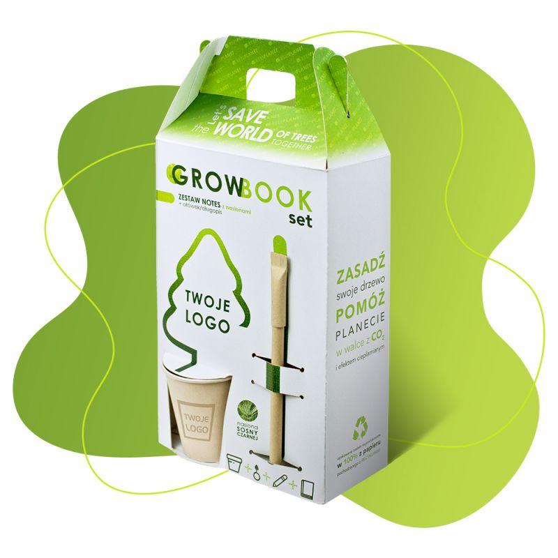 Eco Set Rosnący zestaw z ekologicznym notesem
