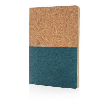 Ekologiczny, korkowy notatnik A5