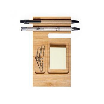 Bambusowy organizer na biurko