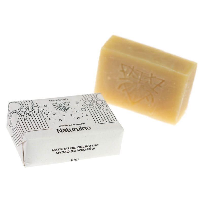 Naturalne mydło do mycia włosów 110g RareCraft