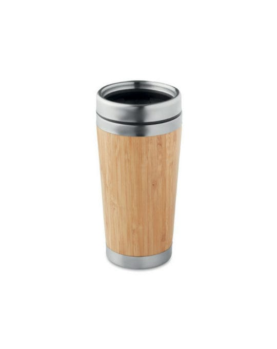 Kubek Izotermiczny Bambus 400ml