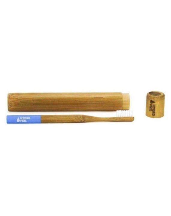 Bambusowe etui na szczoteczkę do zębów