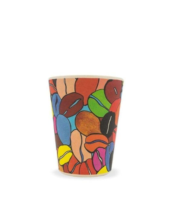 Kubek Bambus Colour Cafe