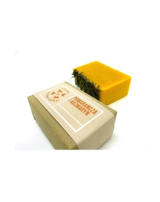 Naturalne Mydło Pomarańcza i Rozmaryn
