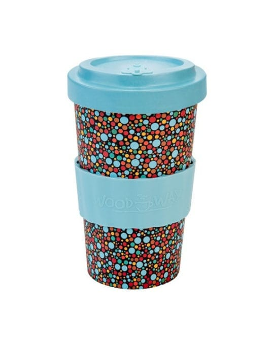Kubek z bambusa Dots 500ml