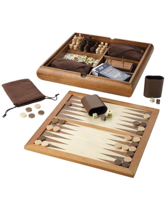 Drewniany zestaw gier 6w1