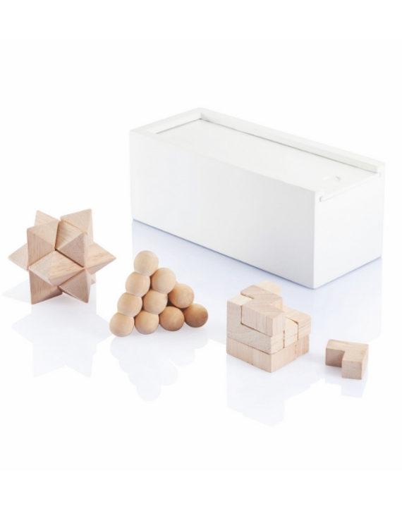 Zestaw układanek logicznych White