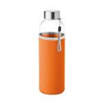 Szklana Butelka 500 ml w pokrowcu