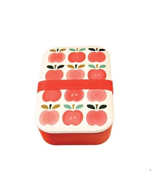 Bambusowe pudełko na lunch Apple