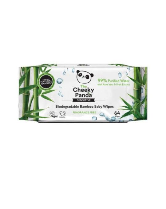 Bambusowe Chusteczki nawilżane