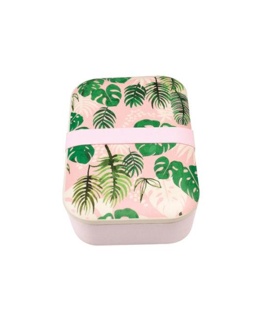 Bambusowe pudełko na lunch Palmy