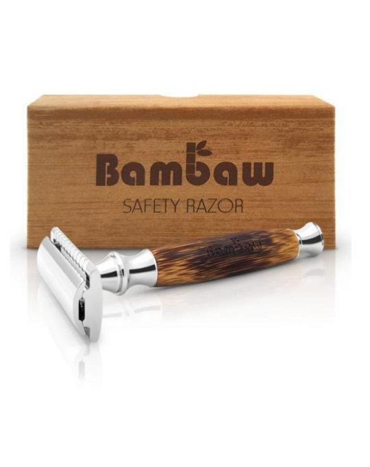 Bambusowa Maszynka do golenia na żyletki