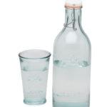 Ekologiczny zestaw : Karafka ze szklanką