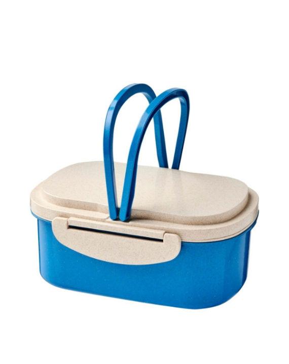 Lunchbox z włókna słomy pszenicy