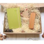 Eco Zestaw świąteczny z Kalendarzem z Jabłka
