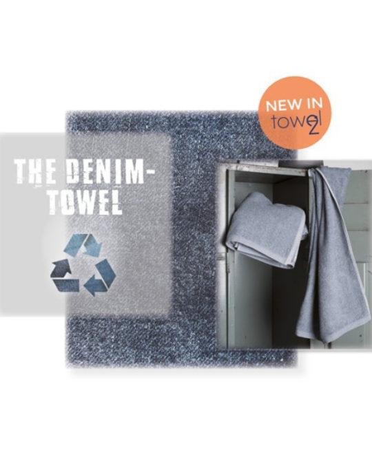 Ręcznik z recyklingowanego jeansu