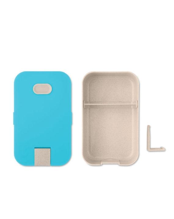 Lunchbox z podstawką na telefon