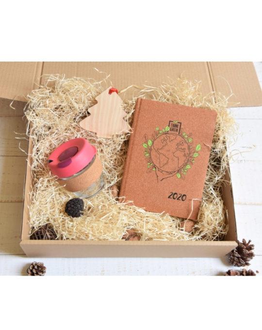 Eco Zestaw świąteczny z Kalendarzem Brown