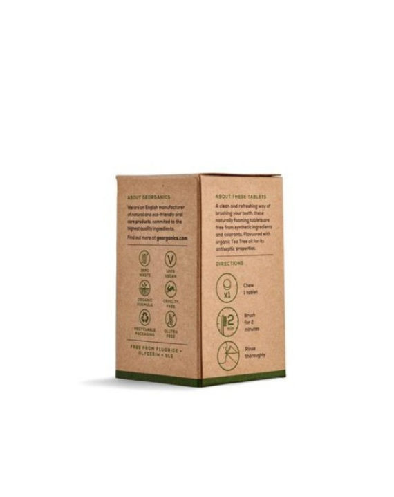 Tabletki do płukania jamy ustnej Drzewo Herbaciane